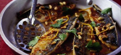 mackerel-with-orange-harissa-glaze