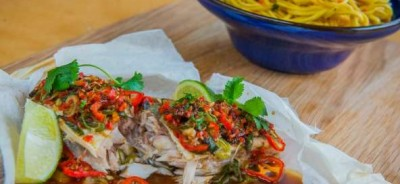 paper-steamed-mackerel-with-hot-and-sour-chilli-dressing